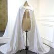 Mantie de nuntă musulmană pelerină mantie din dantelă din satin