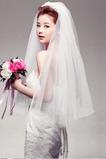 Voal de nunta gradate scurte transparente misterios izvor de farmec