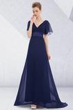 Rochie de seara Corsetul plisate Pară Elegant Talie naturale