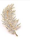 Toate-meci de frunze de copac aliaj cu ridicata bijuterii broșă