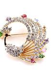 Inlaid diamant panglică colorată din aliaj de păuni
