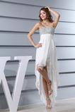 Rochie de bal Fără mâneci Neoficial Fermoar Dragă Asimetrice