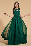Rochie de bal Elegant Dantelă Fără mâneci Bateau Mediu Cădea
