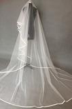Nunta voal satin elegant trainer moale lung fire net