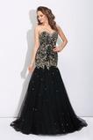 Rochie de bal Fără mâneci Fara spate Corsetul cu bijuterii Dragă