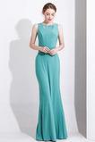 Rochie de seara Nuntă Talie naturale Satin elastic Mediu Teacă