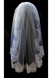 Nunta din dantelă de voal de nuntă cu toamna dantela elegantă