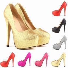 Sparkling fashion mireasa pantofi de nunta tocuri stiletto