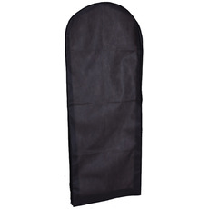Gros negru nețesute tifon rochie de praf acoperă praful sac de rochie