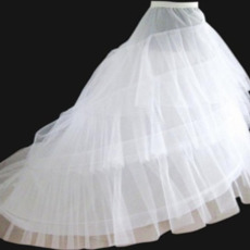 Nunta de mireasa elastic talie lățime două jetoane flouncing rochie de mireasa