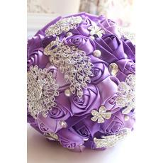Purpuriu diamant de nunta decorare nunta de nunta creative deține flori