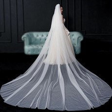 Mireasa voal voal simplu voal mireasa fotografie voal lung accesorii nunta