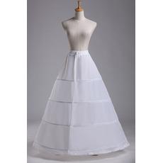 Nunta de mireasa standard de patru jetoane ajustabile la modă taffeta din poliester
