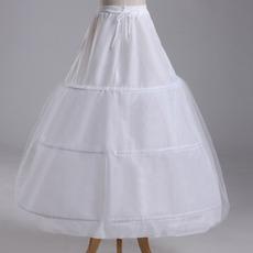 Nunta petticoat trei jante puternice net rochie complet rochie reglabil