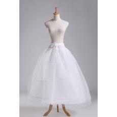 Nunta petticoat trei jante puternice net rochie complet două pachete