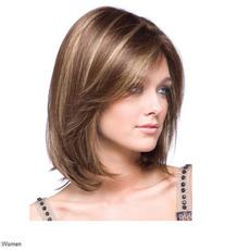 Perruque 30-40 cm material de înaltă temperatură scurtă drept adecvat pentru femei