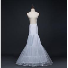 Nunta petticoat lung sirena dublă fire spandex rochie de nunta corset