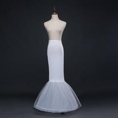 Nunta de mireasa fara sirena spandex talie rochie elastica