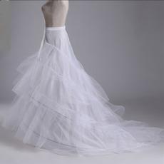 Nunta petticoat trei jante perimetru dublu rochie de mireasa rochie de mireasa