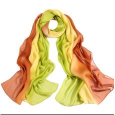 Pulverizați banda de culori pentru a prelungi eșarfa de nivel