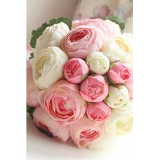 Diamant perla buchet simplu de flori un maestru de onoare