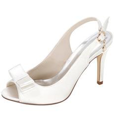 Vara Satin Tocuri inalte nobile Elegant Banchet Tocuri inalte pantofi de dama de nunta