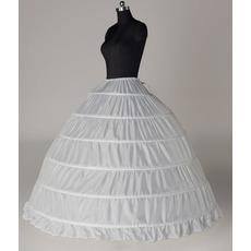 Nunta petticoat șase januri extinde lățimea șir lățime complet reglabil