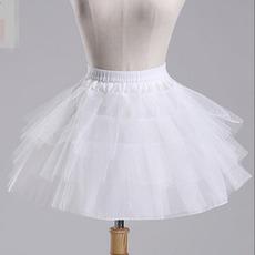 Nuntă fusta de balet de balet scurt dublu fire talie elastica