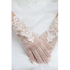 Mănuși de nuntă țesături dantelă dantela decorare dantela