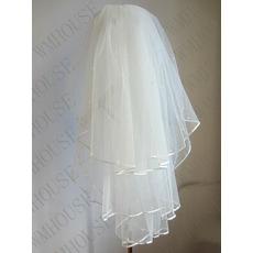 Voal de mireasa 3 straturi pufos nunta voal perla voal scurt nunta