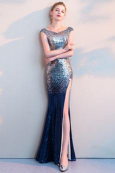 Rochie de bal Înstelat Talie naturală Mâneci plafonate Spațiul frontal