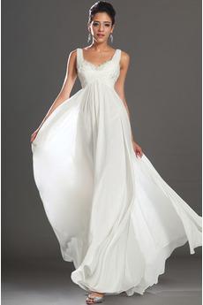 Rochie de seara Elegant zeiţă Vară Lungime de glezna Fermoar