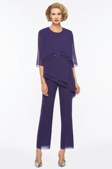 Rochie de mama cu Pantaloni Niveluri Cădea Bijuterie Talie naturale