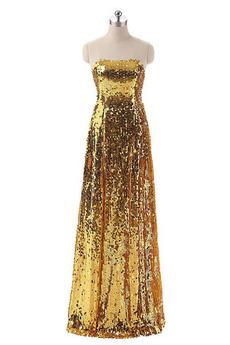 Rochie cu paiete Fără mâneci Etaj lungime Elegant A-linie Paiete