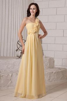 Rochie de domnişoară de onoare Sifon O floare curea Talie imperiu