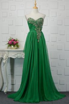 Rochie de seara Şic Talie naturală Vară Mediu Corsetul cu bijuterii