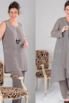 Rochie mama costume Mâneci lungi Tricou Mare acoperit Ocazional