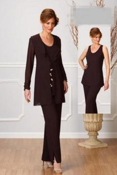 Rochie de mama cu pantaloni Măr Lungime de glezna Mâneci lungi