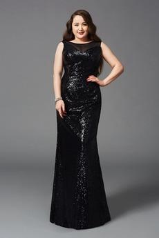 Rochie de seara Mijlocul spate Paiete Înstelat Elegant Talie naturală