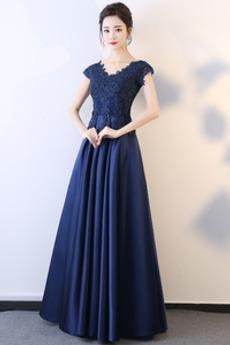 Rochie de bal Mediu Mâneci plafonate Elegant Fara spate Lungime de glezna