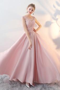 Rochie de bal Dantelă sus Suprapunere de dantela Lungime de glezna
