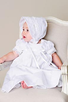 Rochie de botez Arc Cădea Bijuterie Etaj lungime Mediu Modest