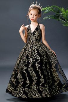Rochie florăreasă Talie naturală Fără mâneci Încrucișa Fara spate