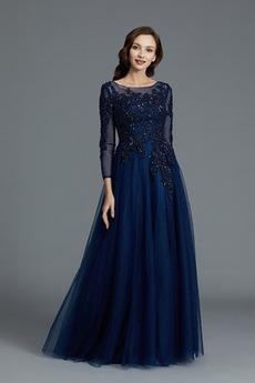 Rochie de mama Dantela Tricou Elegant Talie naturale Etaj lungime