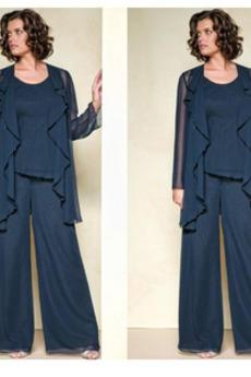 Rochie mama costume Sifon Mediu Talie naturale Tricou Mâneci lungi
