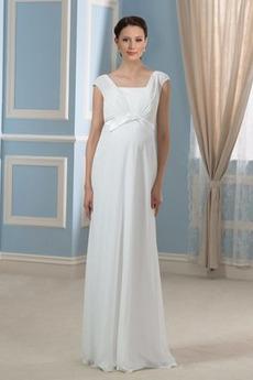 Rochie de seara Piaţa Mare acoperit Elegant Etaj lungime Drapat