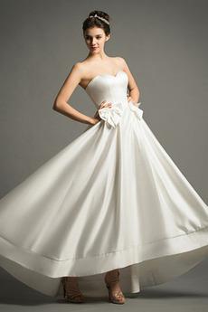 Rochie de mireasa Simplu Etaj lungime Dragă Toamnă În aer liber