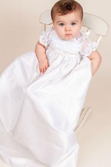 Rochie de botez Înalt acoperit Prințesă Negru înalt Modest Nuntă