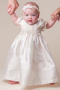 Rochie de botez Printesa Matura Bijuterie Vara Cutat Formale