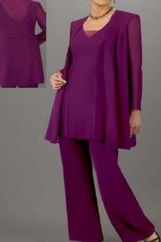 Rochie mama costume Primăvară Mâneci lungi cu Pantaloni Mare acoperit